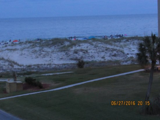 Gulf Shores Plantation: beach view