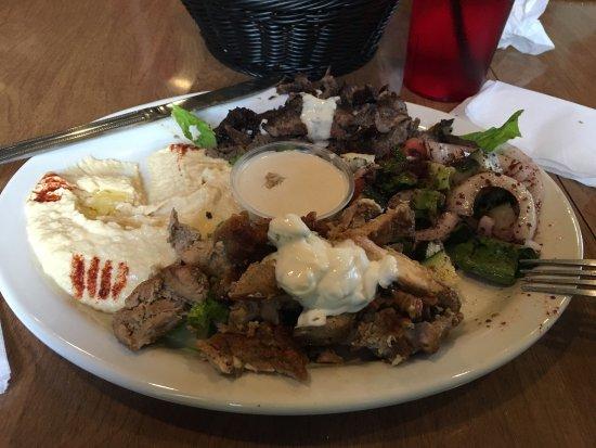 Victor, NY: Amazingly delicious Shawarma Plate!
