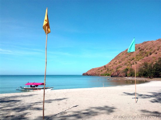 Talisayin Cove: view from our cottage