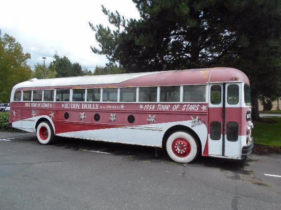 Issaquah, Вашингтон: Buddy Holly Tour Bus