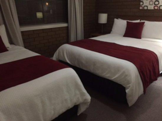 Wangaratta, Australia: best thing was good beds and linen