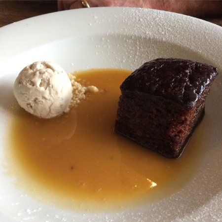 LOVE the sticky toffee pudding!!!