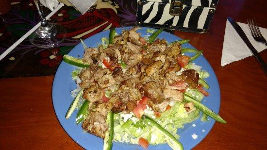Jasper, TN: Pork carnitas salad