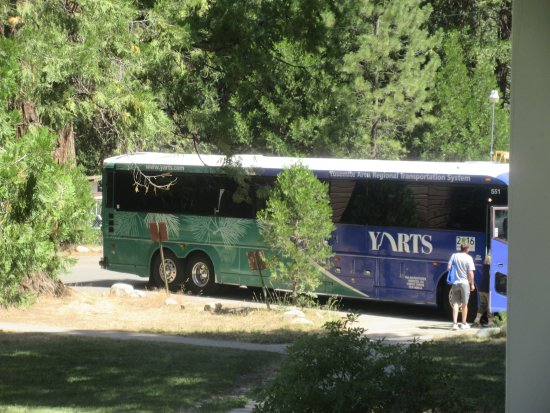 Very Good Public Transportation System Yarts Yosemite Area Regional
