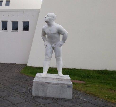 Reykjavik Art Museum - Asmundarsafn: Na porta do museu