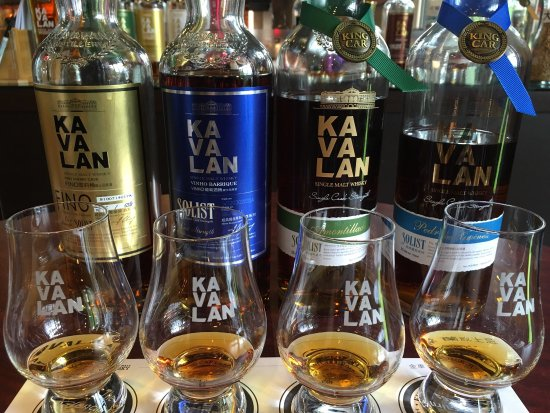 King Car Kavalan Distillery