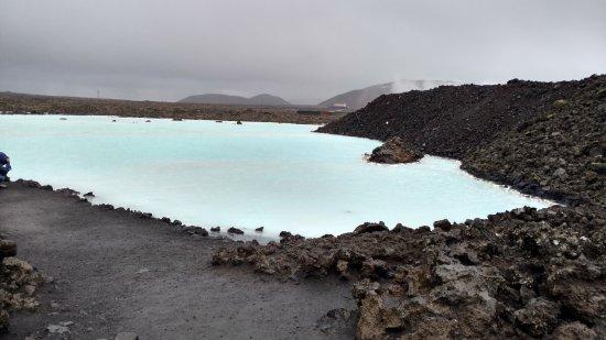 Grindavik, Island: Mini Lagoon before entering the Spa