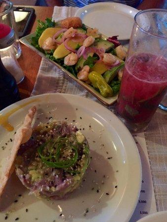 AMAZING dinner in Tamarindo