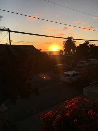 Leucadia, Kalifornien: view of sunset
