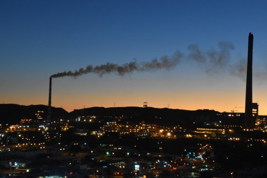 Mount Isa, Australia: When pollution is almost pretty!