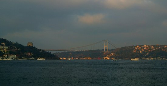 1 Hr Photo >> Amazing Views Of The Bosphorus Bridge From The 1 Hr Cruise On The