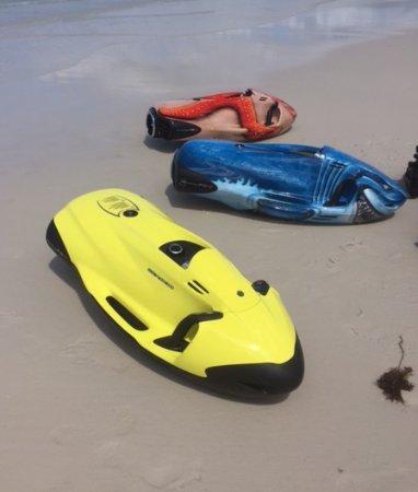 Hayman Island, Australië: The SEABOB Jets