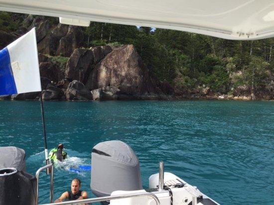 Hayman Island, Australia: SEABOB 1 At Hook Island