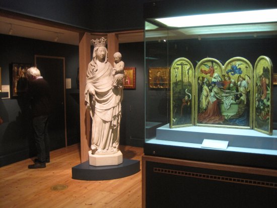 The Courtauld Gallery: the Medieval room