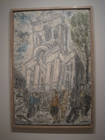 The Courtauld Gallery: Leon Kossoff (Christ Church Spitalfields, Early Summer (1992)