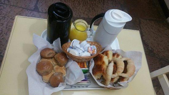 Las Hadas: Breakfast, the parilla, and a playground.
