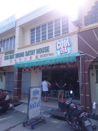 Sun May Hiong Satay House: Storefront.