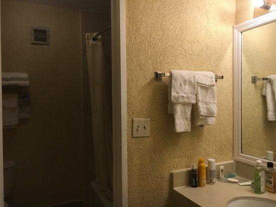 Quality Inn Busch Gardens: Salle de bains correcte