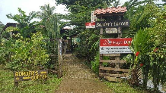 El Castillo, Nicaragua: Borders Cafe
