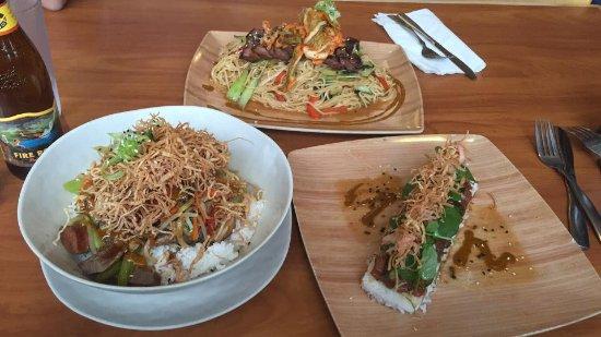 Everett, WA: Bibimbap, Ahi Poke, Pan Fried Noodles