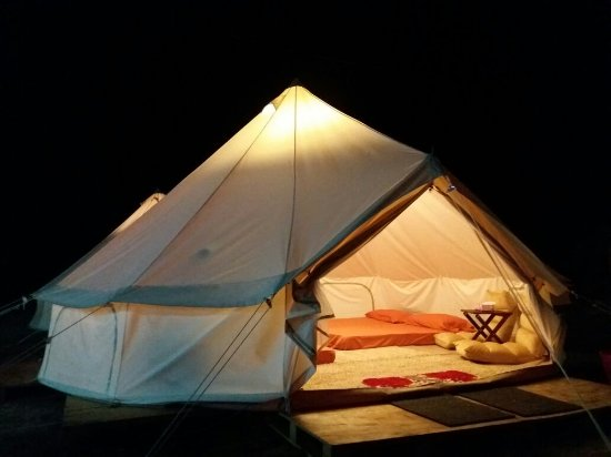 Canopy Tribes Luxurious Bell Tent & Luxurious Bell Tent - Picture of Canopy Tribes Kota Tinggi ...