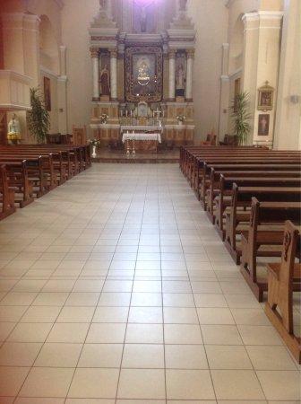 Zarasai, Lituania: Church interior