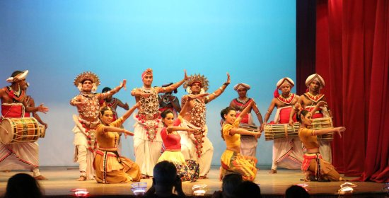 the end of dance picture of kandy lake club cultural dance show