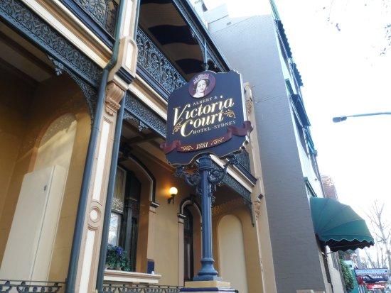 Victoria Court Hotel Sydney Bild