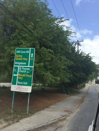 Saint Michael Parish, Barbados: on the road