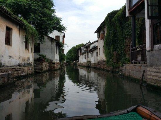 Kunshan, China: Ancient Town Water Lane Boating