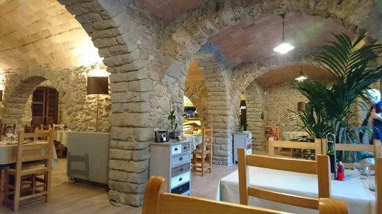 Mieres, Spania: Sopar a la Garrotxa