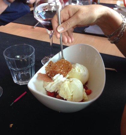 """Hotel Resto Leon : Superbe moment de table chez """"Resto Léon"""" à La-Roche-en Ardenne, au fourneau Francis Lapagne.  Q"""