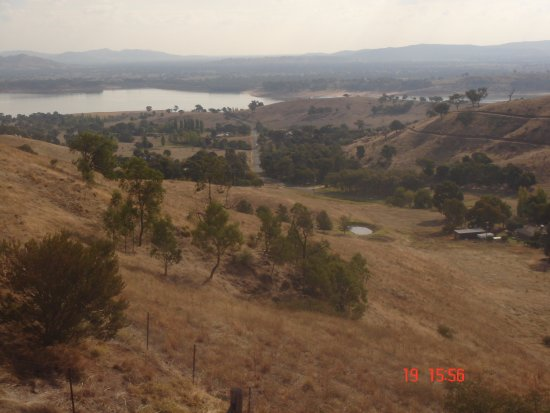 Lake Hume Village, Australia: View to west Lake Hume
