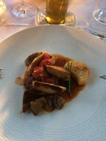 Sulzburg, Alemania: viande du menu la vigna