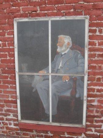 Fredericksburg, VA: bemaltes Fenster