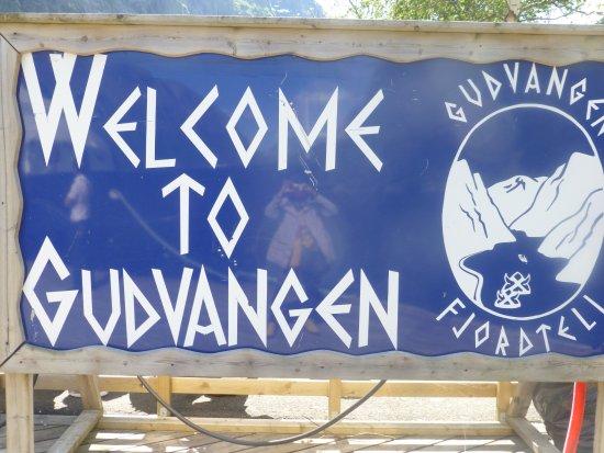 Sogn og Fjordane, Norge: 顧德凡根是松恩峽灣遊船的終點站