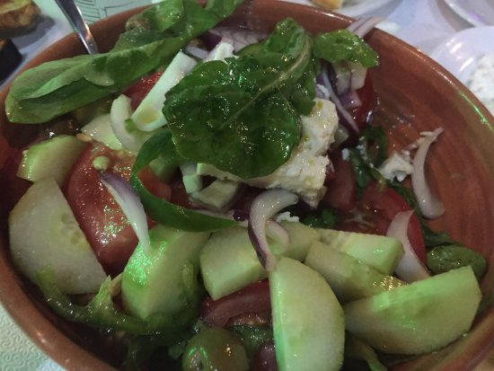 Taverna Michalis: Akşam yemeği, Almanya Fransa maçı, Bulgar aşçı Vahit, güzel klasik greece yemekleri, limon soslu
