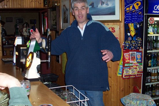 owner mike o' shea schooner bar & b&b ballycotton co cork