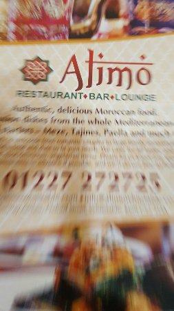 Alimo Restaurant: Alimo