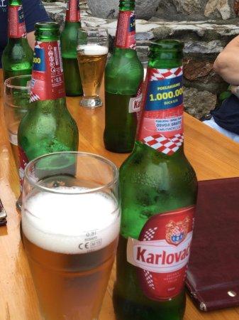 Vrbanj, Kroatië: Bier