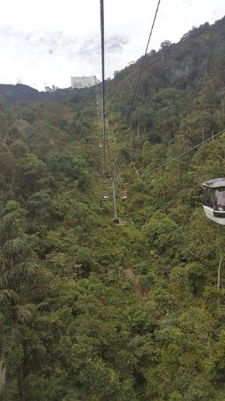 Genting Highlands Theme Park: View from the Aerial Ropeway