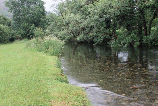 Betws Garmon, UK: The stream near the park
