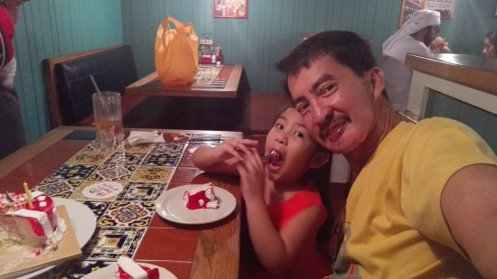 My Grand Daughter Enjoying Her Ice Cream Cake Picture Of Chilis