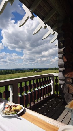 Ilomantsi, Finlandia: Stunning view from the terrace