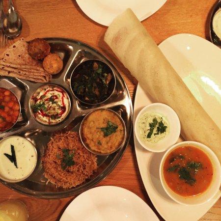 Drighlington, UK: Prashad Indian vegetarian restaurant