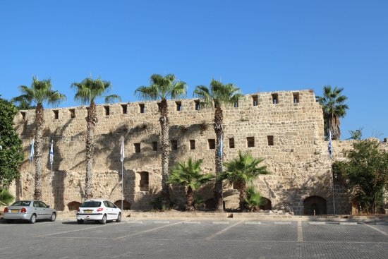 Acre, İsrail: views from the citadel