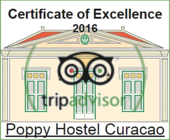 Poppy Hostel Curacao : 2016 CoE Award