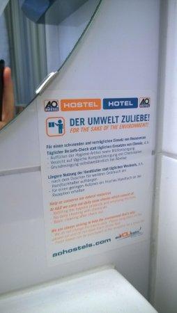 A&O Berlin Mitte: Was tun wir nicht alles für die Umwelt...