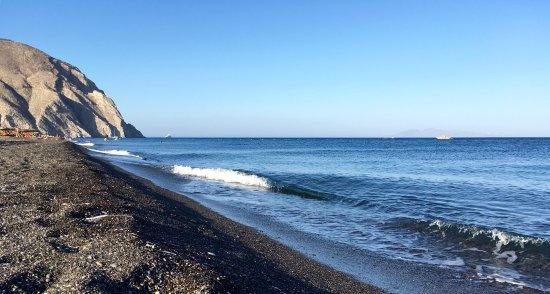 schwarzer Strand von Perissa