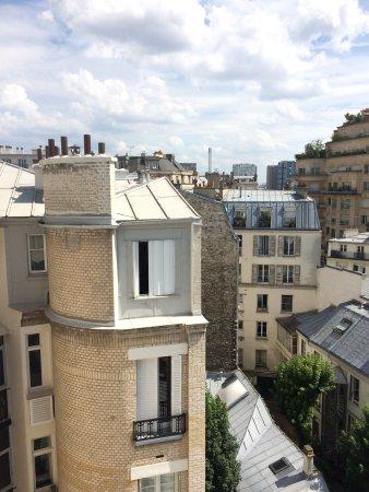 BEST WESTERN PREMIER Trocadero La Tour : Aussicht aus dem Zimmer